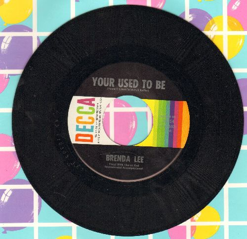 Lee, Brenda - She'll Never Know/Your Used To Be (MINT condition!) - M10/ - 45 rpm Records