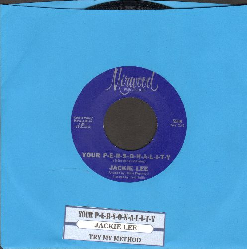 Lee, Jackie - Your P-E-R-S-O-N-A-L-I-T-Y/Try My Method - NM9/ - 45 rpm Records