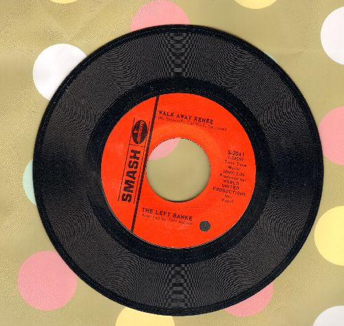 Left Banke - Walk Away Renee/I Haven't Got The Nerve - NM9/ - 45 rpm Records