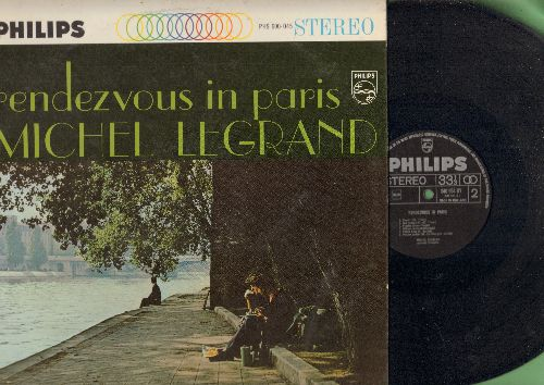 Legrand, Michel - Rendezvous In Paris: C'est Si Bon, Boum, C'est Magnifique, Pigalle, Milord, Padam Padam (Vinyl STEREO LP record, Dutch Pressing) - NM9/EX8 - LP Records