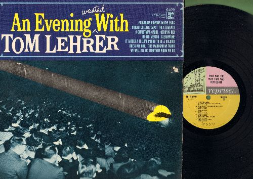 Lehrer, Tom - An Evening Wasted With Tom Lehrer: Poisoning Pidgeons In The Park, Oedipus Rex, She's My Girl, The Masochism Tango (Vinyl MONO LP record) - NM9/EX8 - LP Records