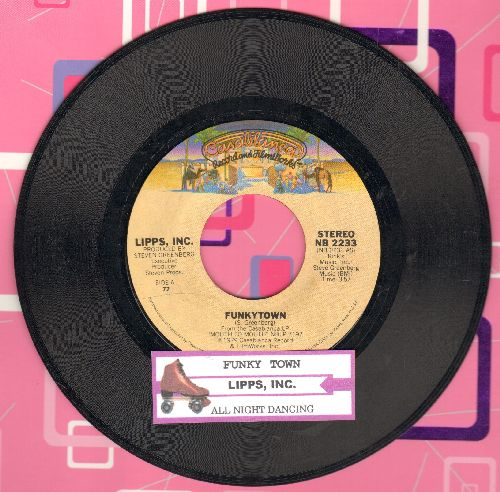 Lipps, Inc. - Funkytown/All Night Dancing (with juke box label) - EX8/ - 45 rpm Records