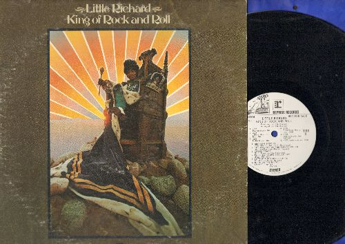 Little Richard - King Of Rock And Roll: Dancin g In The Street, The Way You Do The Things You Do, I'm So Lonesome I Could Cry (vinyl STEREO LP record, DJ advance pressing) - NM9/EX8 - LP Records