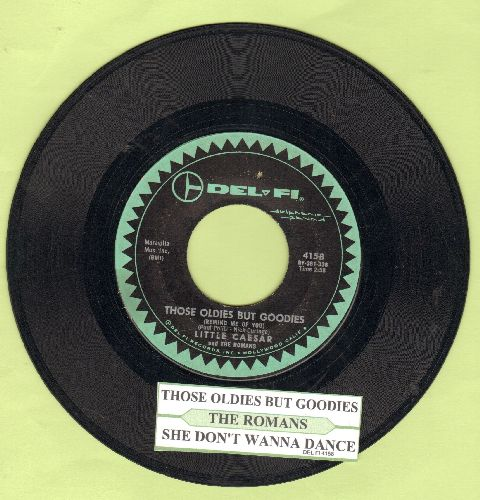 Little Caesar & The Romans - Those Oldies But Goodies/She Don't Wanna Dance (with juke box label) - VG7/ - 45 rpm Records