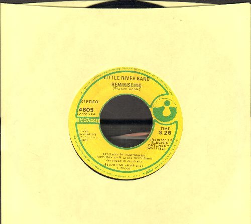Little River Band - Reminiscing/So Many Paths - EX8/ - 45 rpm Records