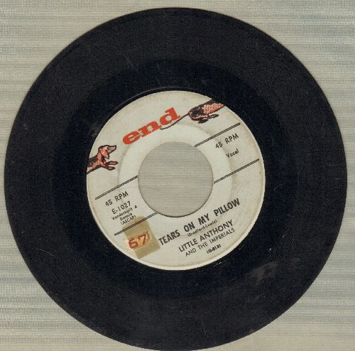 Little Anthony & The Imperials - Tears On My Pillow/Two People In The World  - VG7/ - 45 rpm Records
