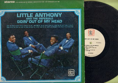 Little Anthony & The Imperials - Goin' Out Of My Head: Hurt So Bad, Who's Sorry Now, It's Just A Matter Of Time, Hurt, I Miss You So, What A Difference A Day Makes (Vinyl LP record) - EX8/VG7 - LP Records