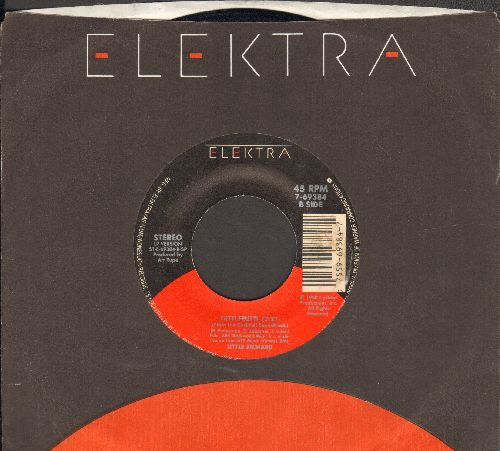 Little Richard - Tutti Frutti/Powerful Stuff (by The Famulous Thunderbirds 0n flip-side, with Elektra company sleeve) - NM9/ - 45 rpm Records