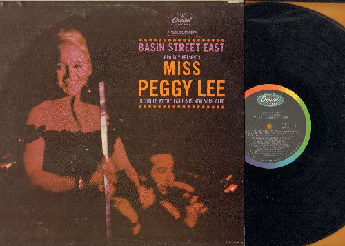 Lee, Peggy - Basin Street East: Fever, The Second Time Around, I Got A Man (Live Recording!, vinyl MONO LP record) - NM9/VG6 - LP Records
