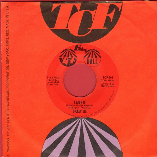 Lee, Dickey - Laurie (Strange Things Happen)/Party Doll (MINT condition with RARE TCF company sleeve) - M10/ - 45 rpm Records