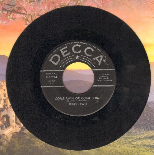 Lewis, Jerry - Rock-A-Bye Your Baby With A Dixie Melody/Come Rain Or Come Shine  - G5/ - 45 rpm Records