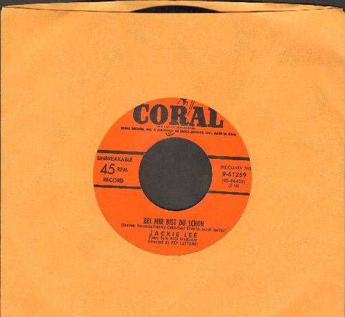 Lee, Jackie - Bei Mir Bist Du Schoen/Missouri Waltz - EX8/ - 45 rpm Records