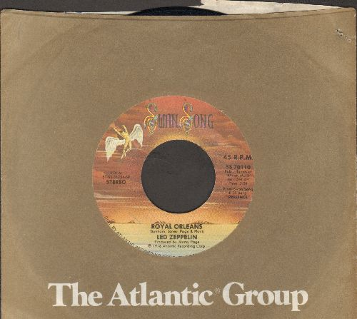 Led Zeppelin - Royal Orleans/Candy Store Rock (with company sleeve) - EX8/ - 45 rpm Records