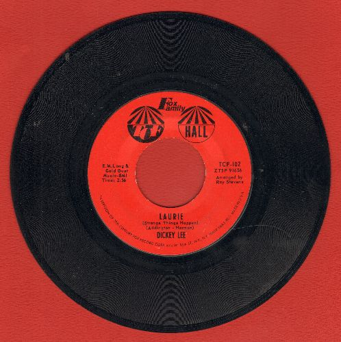 Lee, Dickey - Laurie (Strange Things Happen)/Party Doll  - NM9/ - 45 rpm Records