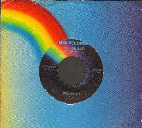 Lee, Brenda - Rock On Baby/More Than A Memory - EX8/ - 45 rpm Records