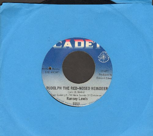 Lewis, Ramsey - Rudolph The Red-Nosed Reindeer/Day Tripper (bb) - VG7/ - 45 rpm Records