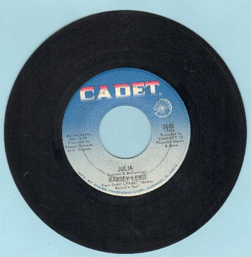 Lewis, Ramsey - Julia/Do What You Wanna - EX8/ - 45 rpm Records