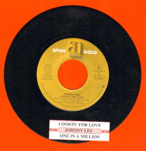 Lee, Johnny - Lookin' For Love/One In A Million (double-hit re-issue with juke box label) - NM9/ - 45 rpm Records
