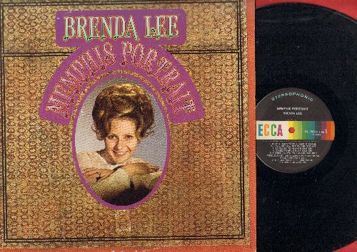 Lee, Brenda - Memphis Portrait: Leaving On A Jet Plane, Proud Mary, Games People Play, Give A Hand Take A Hand (vinyl Stereo LP record) - NM9/EX8 - LP Records