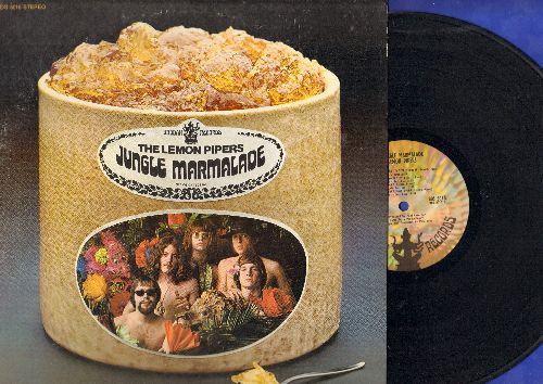 Lemon Pipers - Jungle Marmalade: Jelly Jungle, Love Beads And Meditation, I Need Someone, Wind And Violence (vinyl STEREO LP record) - EX8/EX8 - LP Records