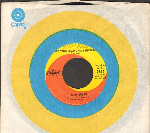 Lettermen - Put Your Head On My Shoulder/Mary's Rainbow (with Capitol company sleeve) - EX8/ - 45 rpm Records