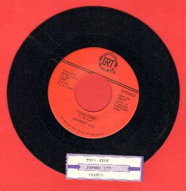 Lee, Johnny - This Time/Frisco (with juke box label) - NM9/ - 45 rpm Records