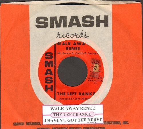 Left Banke - Walk Away Renee/I Haven't Got The Nerve (with juke box label and Smash company sleeve) - NM9/ - 45 rpm Records