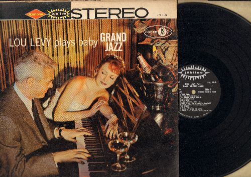 Levy, Lou - Lou Levy Plays Baby Grand Jazz: Undecided, A Sunday Kind Of Love, Comme Ci Comme Ca, The Gypsy (Vinyl STEREO LP record) - NM9/VG7 - LP Records