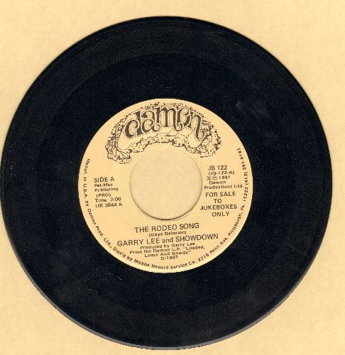 Lee, Garry & Showdown - The Rodeo Song/Cajun Boogie (HILARIOUS Country Novelty!) - NM9/ - 45 rpm Records