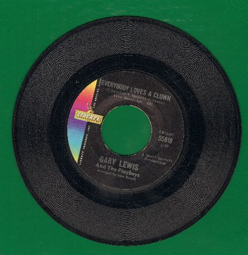 Lewis, Gary & The Playboys - Everybody Loves A Clown/Time Stands Still - EX8/ - 45 rpm Records