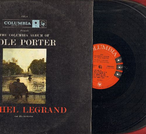 Legrand, Michel & His Orchestra - Cole Porter: Love For Sale, True Love, Night And Day, Anything Goes, Don't Fence Me In (2 vinyl MONO LP records, gate-fold cover) - NM9/EX8 - LP Records