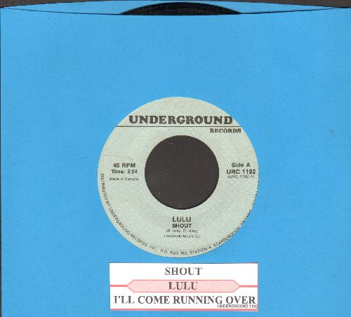 Lulu - Shout/I'll Come Running Over (double-hit re-issue with juke box label) - NM9/ - 45 rpm Records