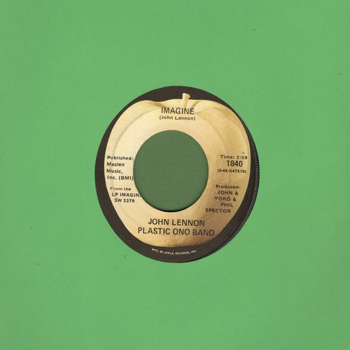 Lennon, John - Imagine/It's So Hard  - EX8/ - 45 rpm Records