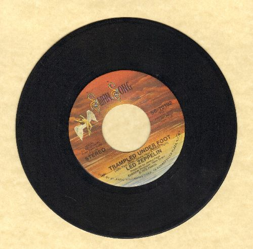 Led Zeppelin - Trampled Under Foot/Black Country Woman - VG7/ - 45 rpm Records