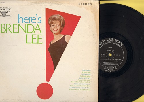 Lee, Brenda - Here's Brenda Lee: Pretty Baby, Pennies From Heaven, Side By Side, Ballin' The Jack, Toot Toot Tootsie Goodbye (Vinyl STEREO LP record) - NM9/VG7 - LP Records