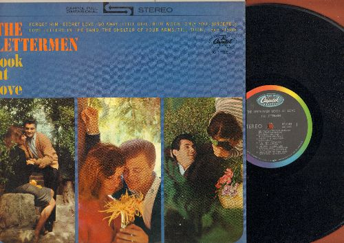 Lettermen - The Lettermen Look At Love: Foget Him, Secret Love, Blue Moon, Sincerely, All I Have To Do Is Dream (Vinyl STEREO LP record) - EX8/NM9 - LP Records