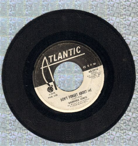 Lewis, Barbara - Don't Forget About Me/It's Magic (DJ advance pressing) - VG7/ - 45 rpm Records
