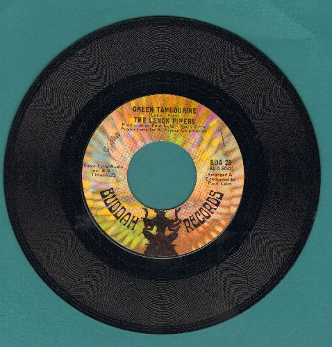 Lemon Pipers - Green Tambourine/No Help From Me  - VG7/ - 45 rpm Records