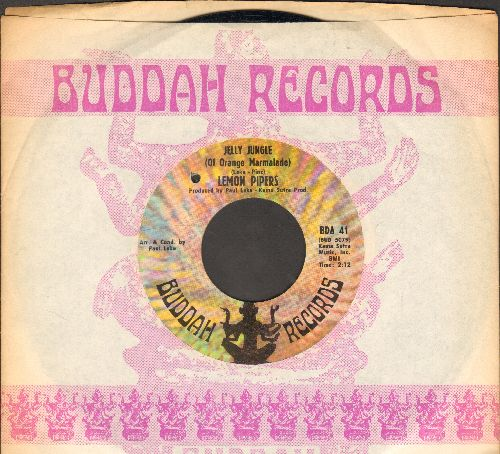 Lemon Pipers - Jelly Jungle (Of Orange Marmalade)/Shoeshine Boy (with Buddah company sleeve)(bb) - EX8/ - 45 rpm Records