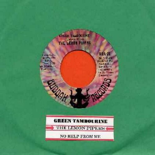 Lemon Pipers - Green Tambourine/No Help From Me (with jukebox label) - EX8/ - 45 rpm Records