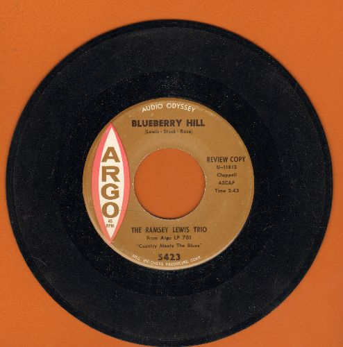 Lewis, Ramsey - Blueberry Hill/Memphis In June - NM9/ - 45 rpm Records