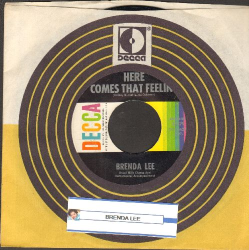 Lee, Brenda - Everybody Loves Me But You/Here Comes That Feelin' (FANTASTIC Overlooked flip-side!) (with Decca company sleeve) - M10/ - 45 rpm Records