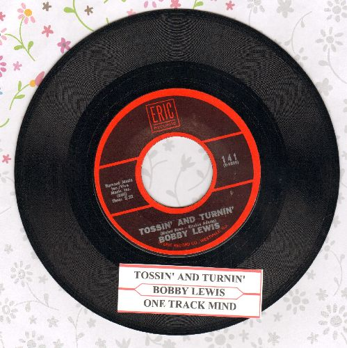 Lewis, Bobby - Tossin' And Turnin'/One Track Mind (re-issue, MINT condition with juke box label) - M10/ - 45 rpm Records
