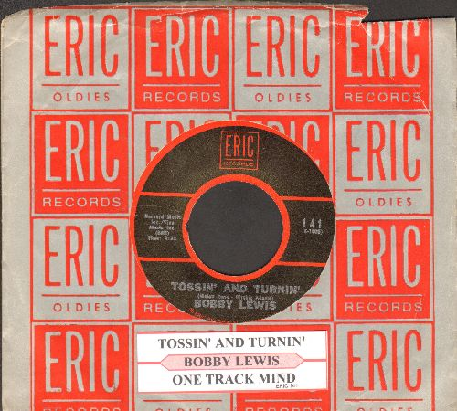 Lewis, Bobby - Tossin' And Turnin'/One Track Mind (re-issue, MINT condition with juke box label and company sleeve) - NM9/ - 45 rpm Records
