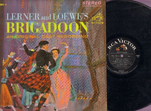 Brigadoon - Brigadoon - Original Cast Recording (vinyl STEREO LP record) - NM9/NM9 - LP Records