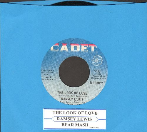 Lewis, Ramsey - The Look Of Love/Bear Mash (DJ advance pressing with juke box label) - NM9/ - 45 rpm Records