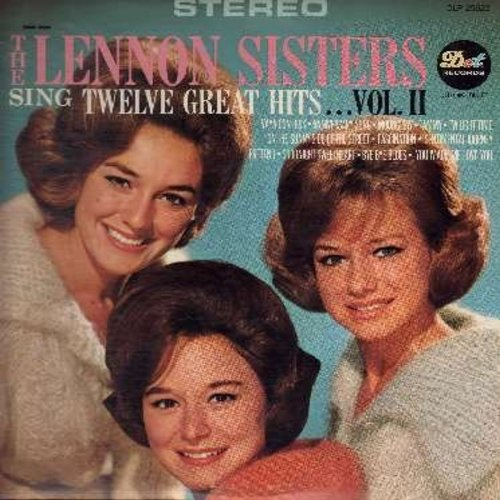 Lennon Sisters - Twelve Great Hits: You Are My Sunshine, Among My Souveniers, Choir O Angels, Melody Of Love, Repeat After Me (Vinyl STEREO LP record) - EX8/EX8 - LP Records