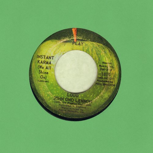 Lennon, John - Instant Karma (We All Shine On)/Who Has Seen The Wind  - VG7/ - 45 rpm Records