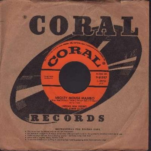 Lennon Sisters - Mickey Mouse Mambo/Hi! To You (with vintage Coral company sleeve) - EX8/ - 45 rpm Records