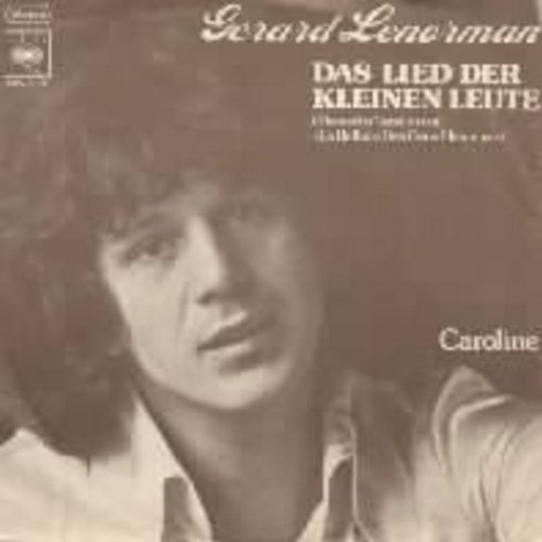 Lenorman, Gerard - Das Lied der kleinen Leute (German pressing, sung in German, with picture sleeve) - EX8/EX8 - 45 rpm Records